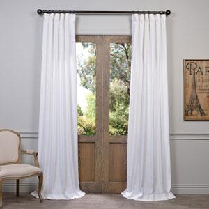 White 120 x 50-Inch Curtain Single Panel