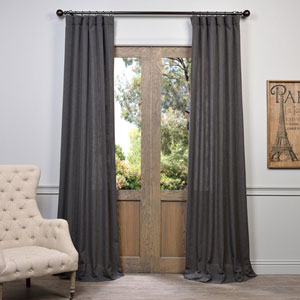 Slate Gray 108 x 50-Inch Curtain Single Panel