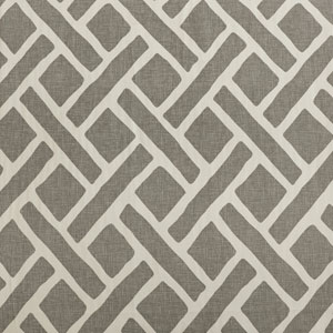Martinique Grey  Printed Cotton - SAMPLE SWATCH ONLY