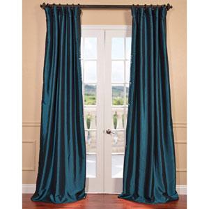 Mediterranean 96 x 50-Inch Blackout Faux Silk Taffeta Curtain Single Panel