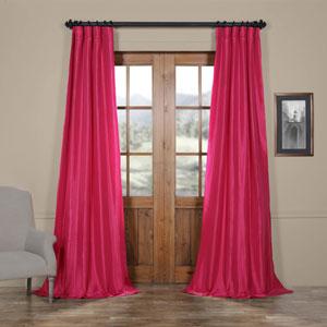 Fuchsia Purple 50 x 108-Inch Taffeta Curtain