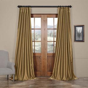 Yellow 50 x 120-Inch Taffeta Curtain