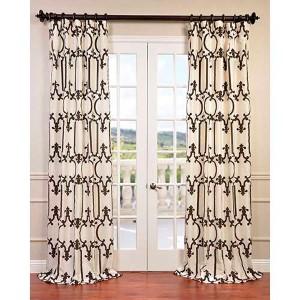 Royal Gate Ivory 108 x 50-Inch Curtain Single Panel