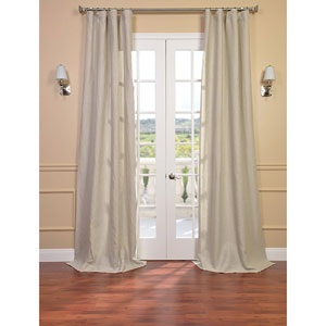 Signature Birch French Linen Sheer Single Panel Curtain Panel, 50 X 84