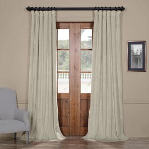 Cool Beige 108 x 50-Inch Blackout Velvet Curtain