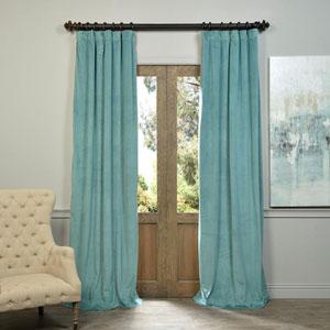 Signature Aqua Mist 120 x 50-Inch Blackout Curtain Single Panel