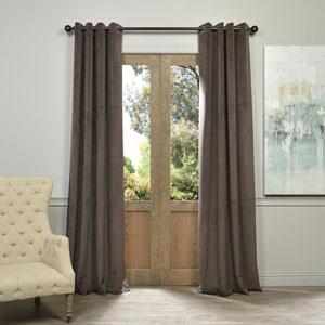 Signature Gunmetal Gray 108 x 50-Inch Grommet Blackout Curtain Single Panel