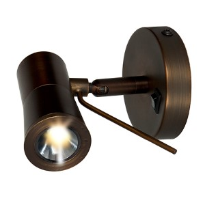 Cyprus 2 Bronze 3.5-Inch Wide LED Wall Sconce