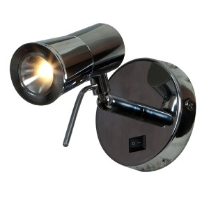 Cyprus 2 Chrome 3.5-Inch Wide LED Wall Sconce