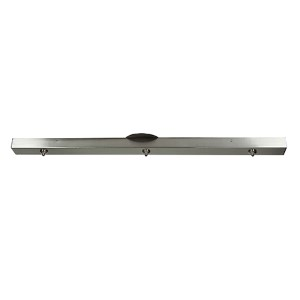 Brushed Steel 36-Inch Wide Unijack Canopy