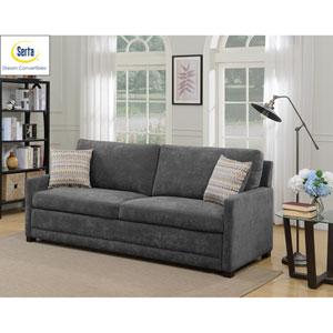 Sabrina Convertible Sofa in Grey