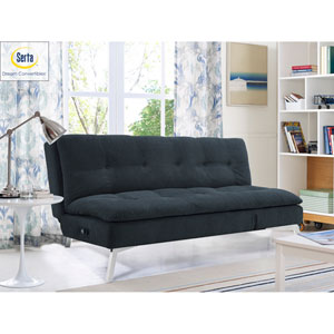 Coventry Convertible Sofa in Slate