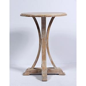 Grace Whitewash Side Table