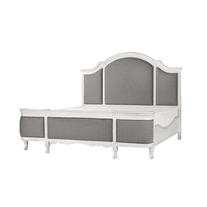 Grace King Antique White King Bed