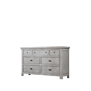 Hayden Light Gray 39-Inch Dresser