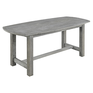 Linden Slate Gray Gathering Height Dining Table