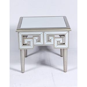Vivian Mirror End Table