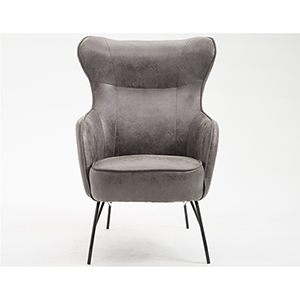 Fulton Badlands Charcoal Accent Chair