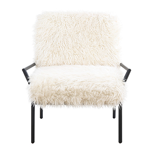 Vivian Off White Accent Chair