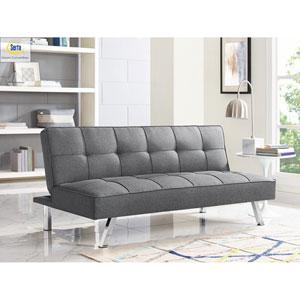Cambridge Charcoal Convertible Sofa