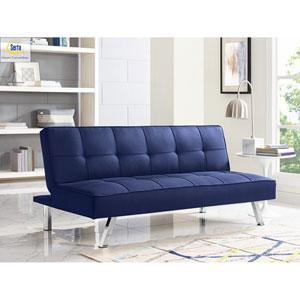 Cambridge Navy Convertible Sofa