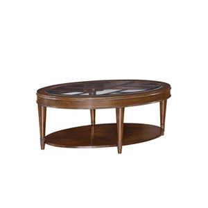 Harmony Oval Cocktail Table
