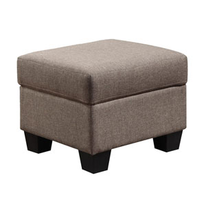 Clearview Ottoman Brown