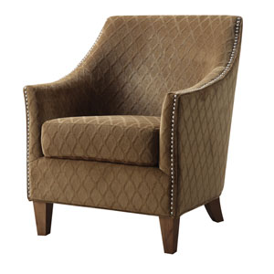 Kismet Accent Chair Pecan