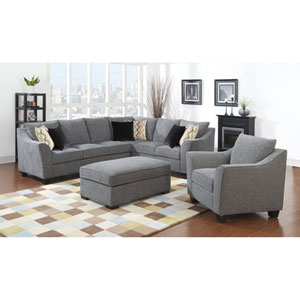 Calvina 3-Piece Set-Left Side Facing Sofa w/2 Pillows