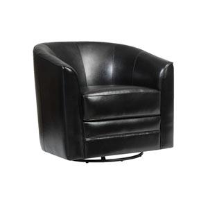 Milo Swivel Chair Black