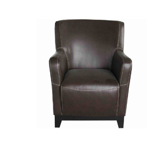 River Station Brown Accent Chair
