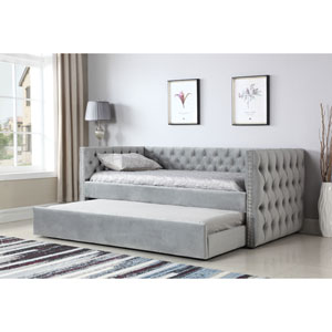 Vivian Gray Trundle Day Bed