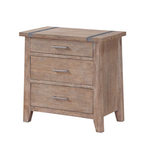 Viewpoint 3 Drawer Nightstand