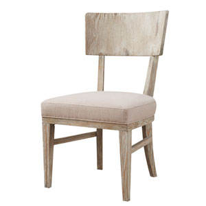 Synchrony Side Chair with Upholstered Seat, Set of 2