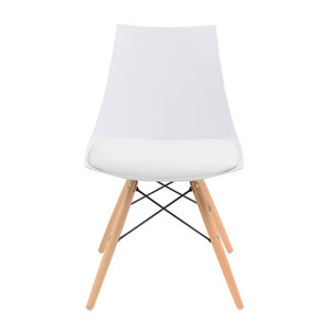 Annette Dining Chair White, Set of 2