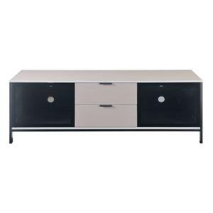 Modern Home TV Console Gray