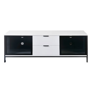 Modern Home TV Console White