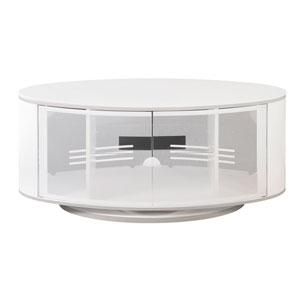 Modern Home TV Console High Gloss White