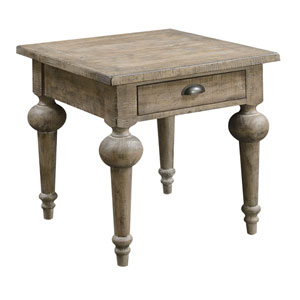 Grace Sandstone End Table