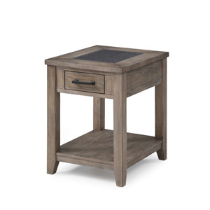 Emerald Home Nevada Chairside Table