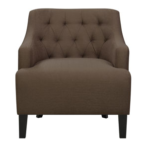 Maxi Accent Chair-Chocolate