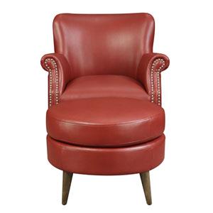 Oscar Accent Chair and Ottoman