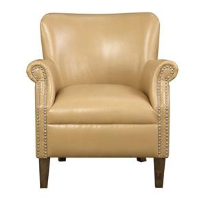 Oscar Accent Chair-Saddle