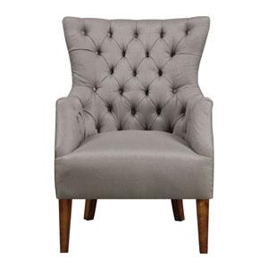 Scholar Accent Chair-Cedar