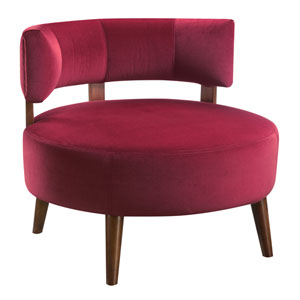 Emerald Home Sphere Wine Accent Chair