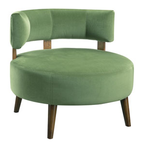 Emerald Home Sphere Grass Accent Chair