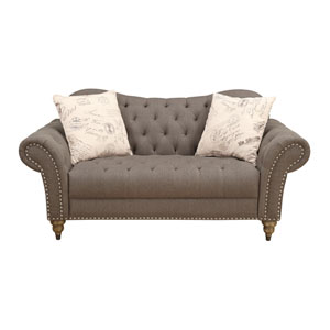 Soriana Loveseat with 2 Accent Pillows