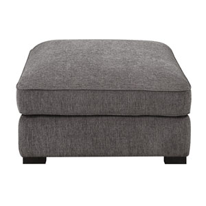 Loring Charcoal Cocktail Ottoman