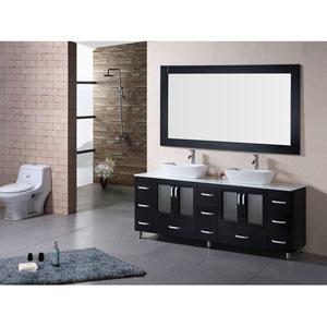 Design Element Stanton Dark Espresso 36 Inch Modern Vanity