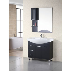 Sierra 40 Inch Single Sink Vanity Set